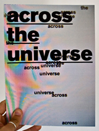 emilio macchia across the universe book
